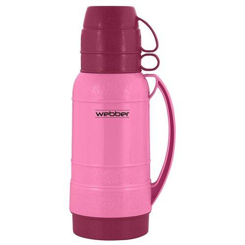 Классический термос Webber 25010, 1 л розовый