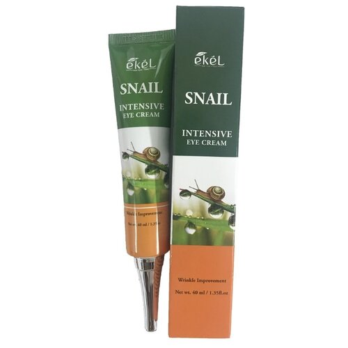 Ekel Крем для кожи вокруг глаз Snail Intensive Eye Cream, 40 мл