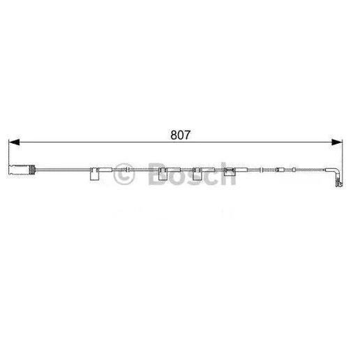 Датчик износа тормозных колодок передний Bosch 1987473058 для MINI