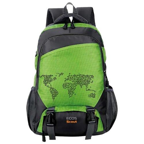 Рюкзак ECOS Scout 35 (зеленый)