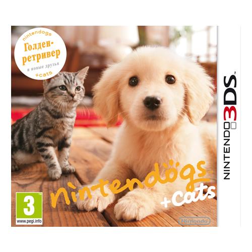 Игра для Nintendo 3DS nintendogs + cats: Голден-ретривер и новые друзья