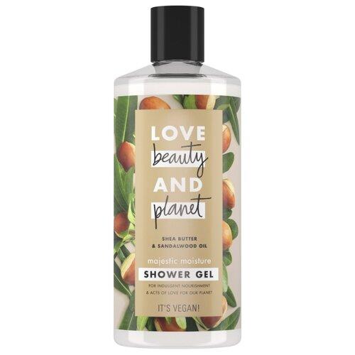 Гель для душа Love Beauty and Planet Масло ши и сандаловое дерево, 400 мл гель для душа love beauty and planet чайное дерево и ветивер 400 мл