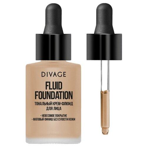 DIVAGE Тональный флюид Fluid Foundation, 30 мл, оттенок: 03 3ina тональный флюид the nude foundation 30 мл оттенок 301