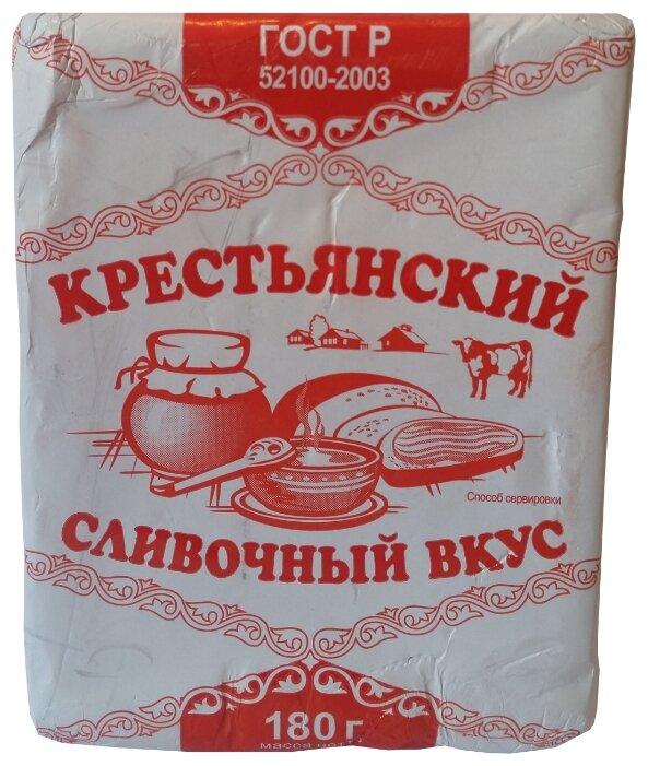 Сливочник Спред растительно-жировой Крестьянский 60%, 180 г