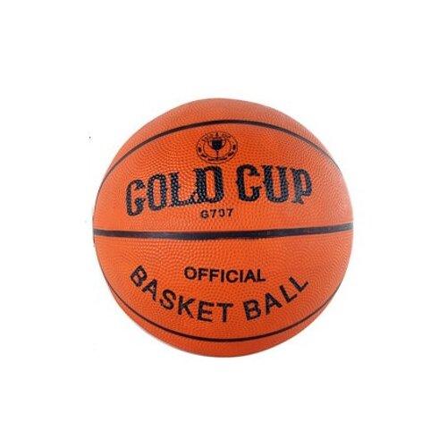 Фото - Баскетбольный мяч Gold Cup G707, р. 7 оранжевый cup