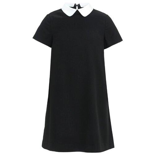 Платье Gulliver размер 170, черный платье oodji ultra цвет красный белый 14001071 13 46148 4512s размер xs 42 170