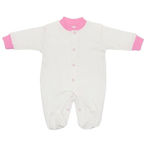 Фото - Комбинезон Клякса размер 20-56, белый/розовый комбинезон клякса размер 20 56 розовый