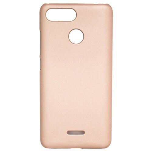 Чехол Volare Rosso Soft-touch для Xiaomi Redmi 6 (пластик) золотой