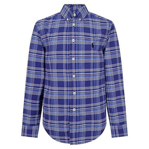 Рубашка Ralph Lauren размер 110, голубой