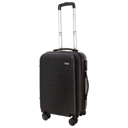 Чемодан PROFFI Tour Daily S 40 л, черный чемодан proffi business lady m 63 л розовый