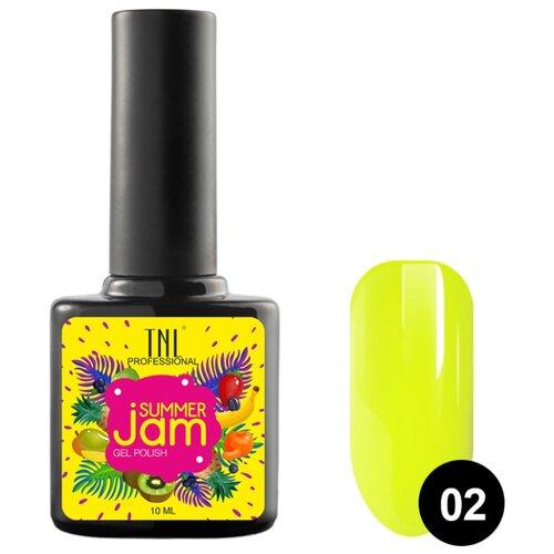 Купить Гель-лак для ногтей TNL Professional Summer Jam, 10 мл, 02 неоновый лимонный