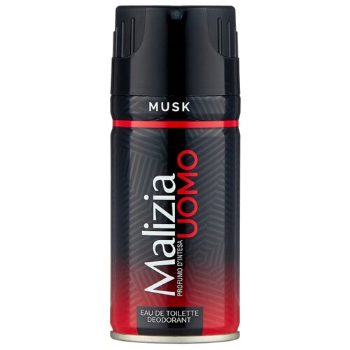 Дезодорант спрей Malizia Uomo Musk, 150 мл