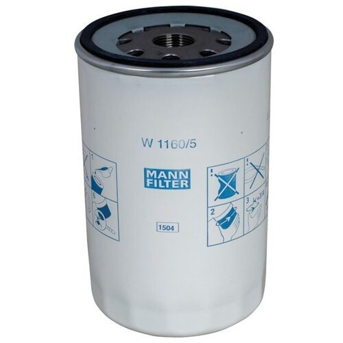 Масляный фильтр MANNFILTER W1160/5