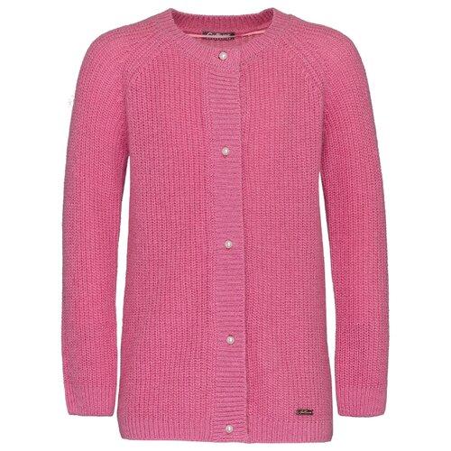 Кардиган Gulliver размер 110, розовый кардиган gulliver размер 110 розовый