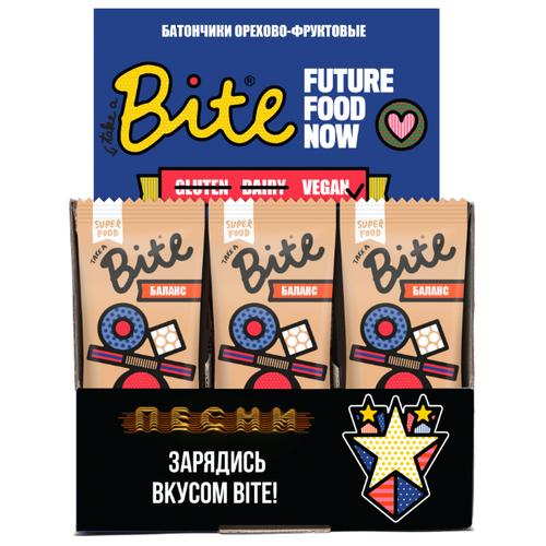 Фруктовый батончик Bite Box Баланс без сахара Кокос и бразильский орех, 20 шт