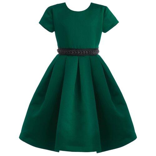 Платье Gulliver размер 104, зеленый
