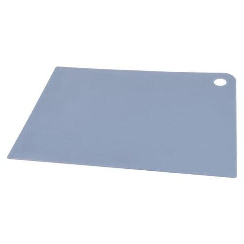 Разделочная доска Plast Team 1114 thick-line 34,5х24,5х0,5 см туманно-голубой