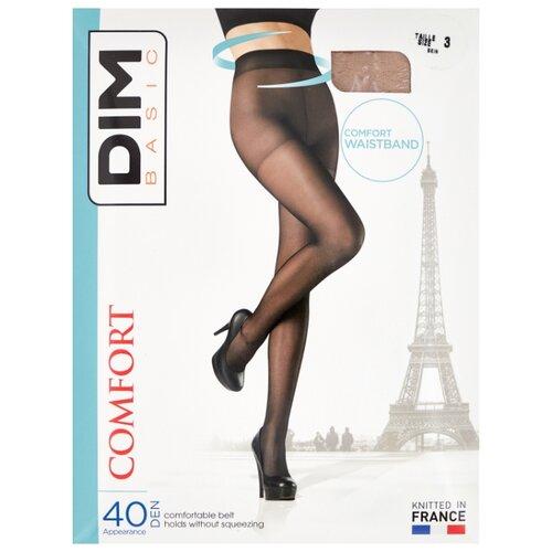 цена Колготки DIM Basic Comfort 40 den, размер 3, телесный (бежевый) онлайн в 2017 году