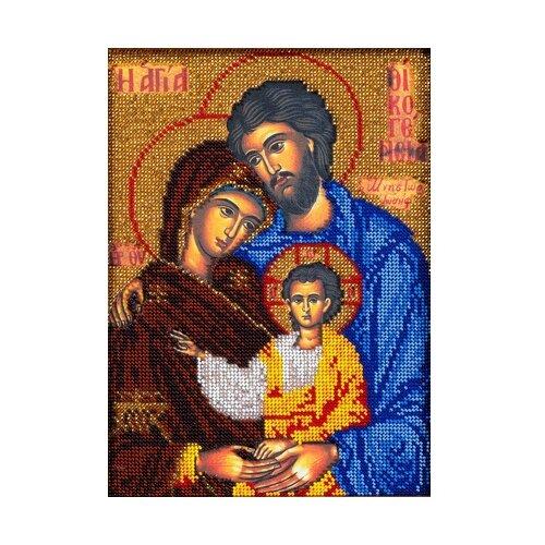 Купить Радуга бисера Набор для вышивания бисером Святое Семейство 19 x 26 см (В-188), Наборы для вышивания