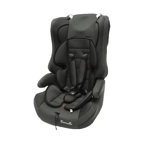 Автокресло группа 1/2/3 (9-36 кг) Carmella 513 RF, grey/black dot группа 1 2 3 от 9 до 36 кг carmella 513 rf и protectionbaby защитная накидка на спинку переднего сиденья автомобиля