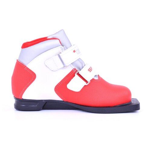 Ботинки для беговых лыж Spine Kids Pro 399/9 красный 37