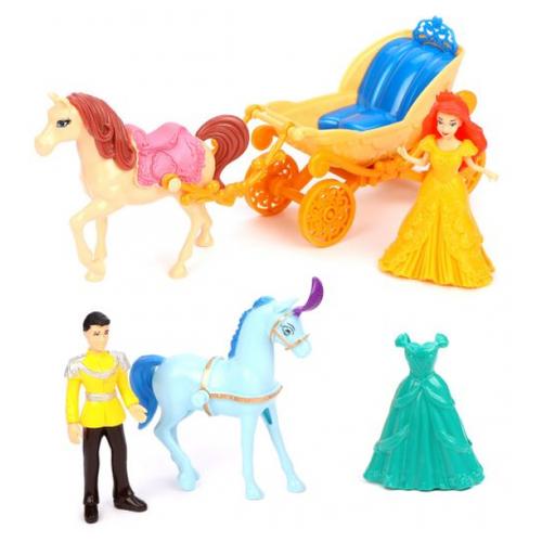Игровой набор Shantou Gepai Fashion Carriage, 10 см, SS047C игровой набор shantou t10759 43 см со звуком пьющая писающая