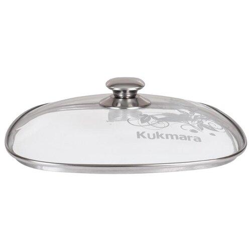 Крышка Kukmara с26-2т112, 26х26 см серебристый/прозрачный по цене 555