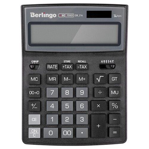 Купить Калькулятор бухгалтерский Berlingo City Style CIB_214 черный/серый
