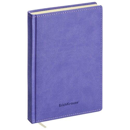 Купить Ежедневник ErichKrause Silhouette недатированный, искусственная кожа, А5, 168 листов, индиго, Ежедневники, записные книжки
