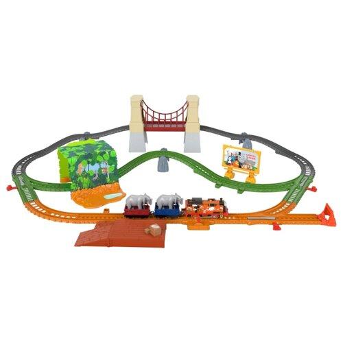 Купить Fisher-Price Игровой набор Ния и слон , серия TrackMaster, GPD84, Наборы, локомотивы, вагоны