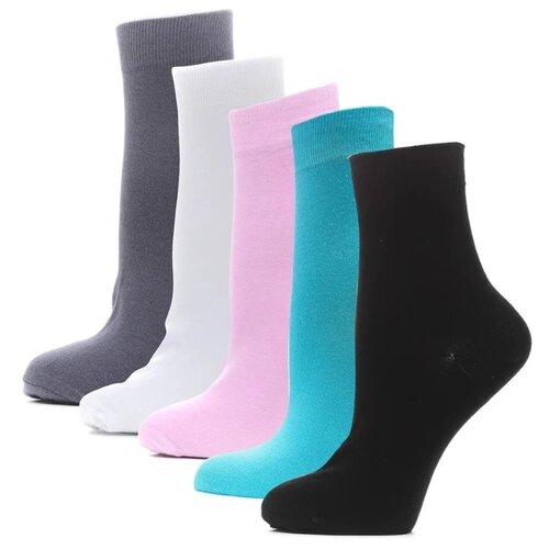 Носки HOSIERY 75215, 5 пар, размер 23-25, разноцветный