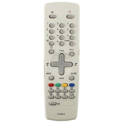 Пульт ДУ Huayu R-49C10 для телевизоров Daewoo DTM-2930/KR2930/KR29M7/KR29S7 серый