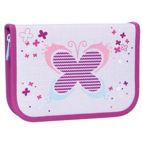 TIGER FAMILY Пенал Playful Butterfly фиолетовый/серый tiger family пенал rainbow butterfly 228885 розовый