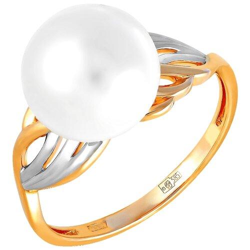 Фото - ПримаЭксклюзив Кольцо с 1 жемчугом из красного золота 190-1-797Р, размер 17 примаэксклюзив кольцо с 1 жемчугом из красного золота 190 1 921р размер 17