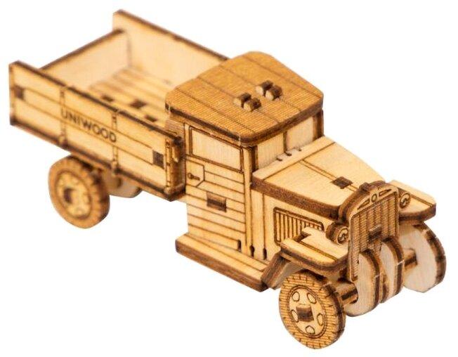 Сборная модель Uniwood Миниатюрный Unit Грузовик ЗИС-5