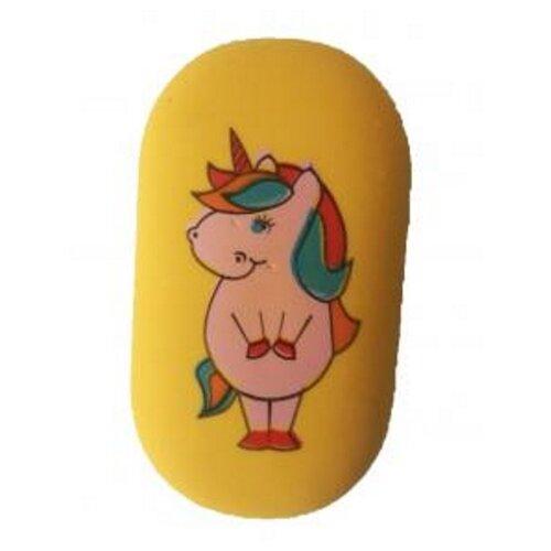 CENTRUM Ластик Unicorn желтый, Ластики  - купить со скидкой