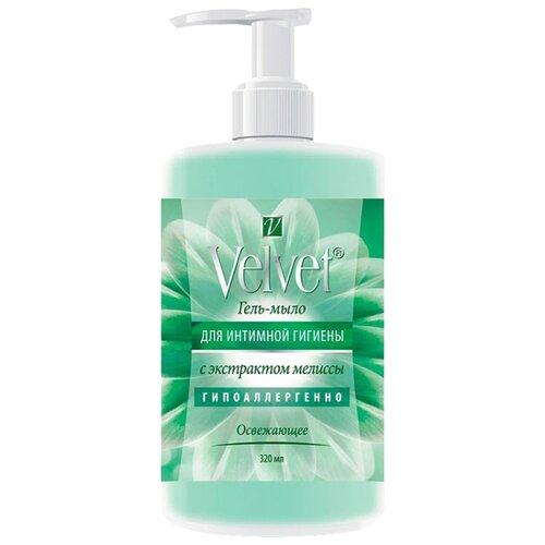 Velvet Гель-мыло для интимной гигиены с с экстрактом мелиссы освежающее, 320 мл
