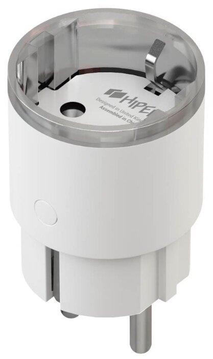 Розетка HIPER IoT P04,16А, с защитной шторкой, с заземлением, белый