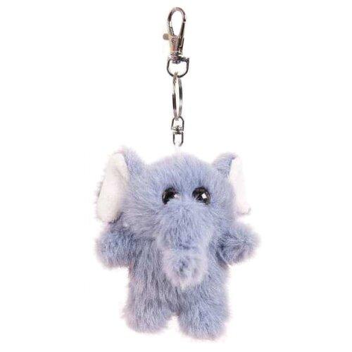 Купить Игрушка-брелок Junfa toys Флэтси мини Слоник 9, 5 см, Мягкие игрушки