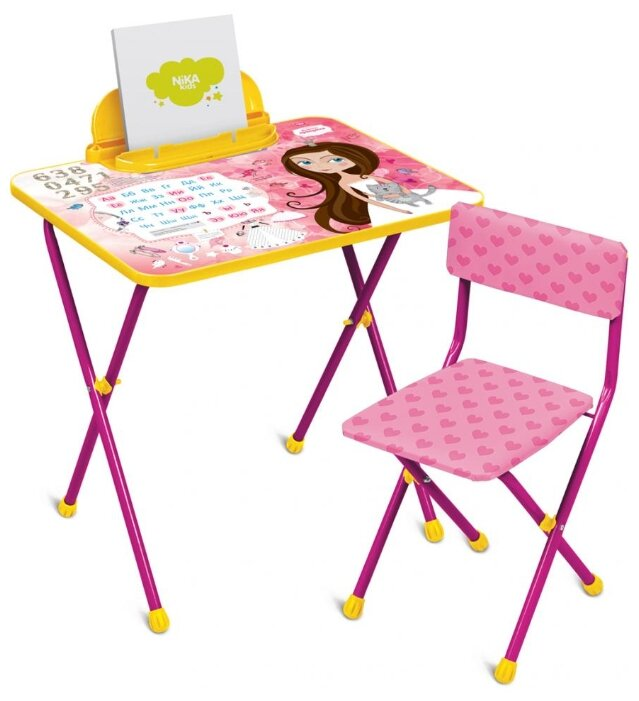 Комплект Nika стол + стул Маленькая принцесса (КП2/17)