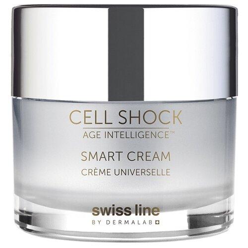 Крем Swiss Line Cell Shock Age Intelligence Smart Cream для лица, 50 мл сыворотка для лица swiss line swiss line sw013lwdvtw2