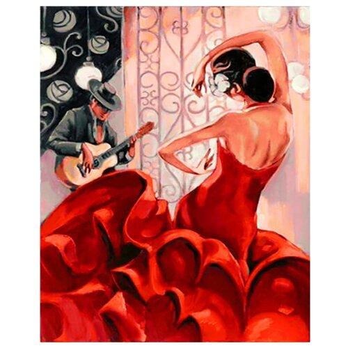 ВанГогВоМне Картина по номерам Страстный танец, 40х50 (ZX 21817) картина по номерам вангогвомне рыцарский замок