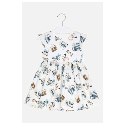Купить Платье Mayoral размер 128, синий, Платья и сарафаны