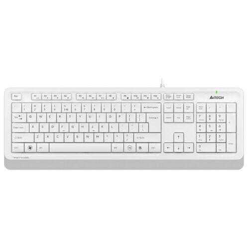 Клавиатура A4 Fstyler FK10 белый/серый USB