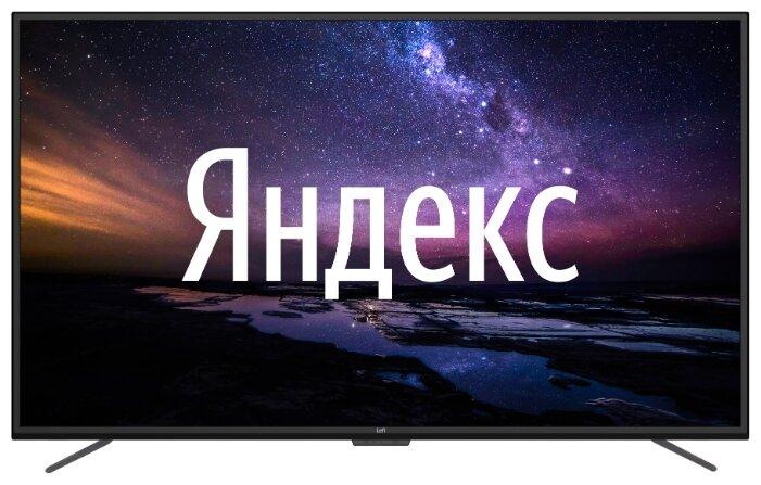 """Купить Телевизор Leff 50U510S 50"""" (2020) на платформе Яндекса черный по низкой цене с доставкой из Яндекс.Маркета (бывший Беру) - Лучшие гаджеты-2020"""