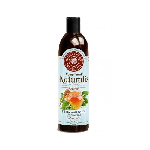 Купить Compliment Naturalis Пена для ванн Согревающая Мед и липа, 500 мл
