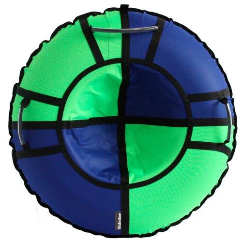 Тюбинг Hubster Хайп 100 см синий/салатовый тюбинг hubster хайп 120 см салатовый бирюзовый
