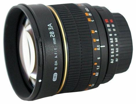 Объектив Rokinon 85mm f/1.4 Aspherical AE-Chip Nikon F (85MAF-N)