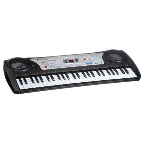 Синтезатор Huarong toys Синтезатор SD5491-A черный/серебристый синтезатор rolsen rkb6102 61 клавиша usb черный
