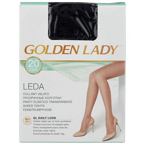 Колготки Golden Lady Leda 20 den, размер 3-M, nero (черный) колготки golden lady ciao 20 den размер 3 m nero черный